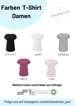 Farbe T-Shirt Damen
