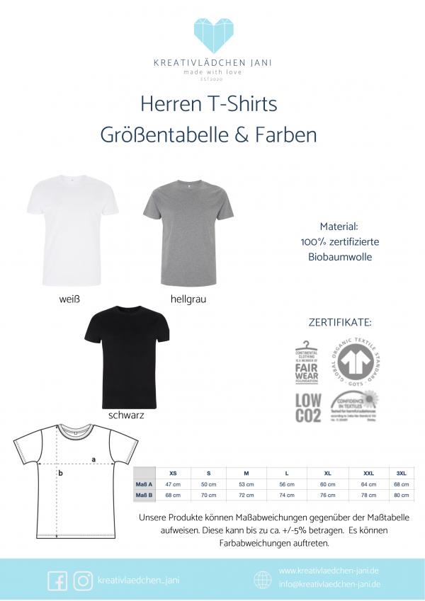 T-Shirt Herren Größen
