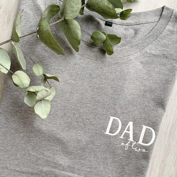 T-Shirt Dad of - personalisiert