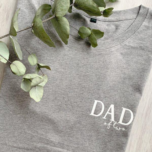 T-Shirt Dad of - personalisiert