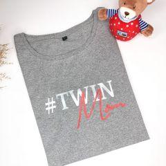 Shirt #Twinmom Statementshirt