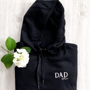 Dad of two Hoodie