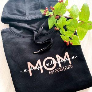 Hoodie Mom personalisiert