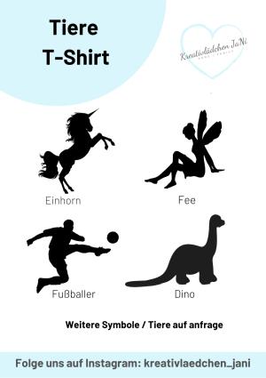 Bilder Tiere T-Shirt