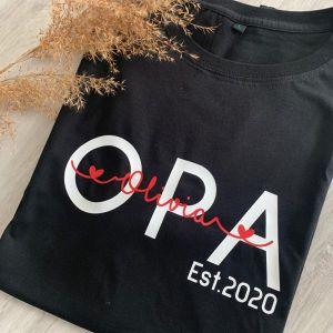 T-Shirt OPA Est. - personalisiert
