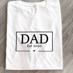 DAD T-Shirt Jahreszahl