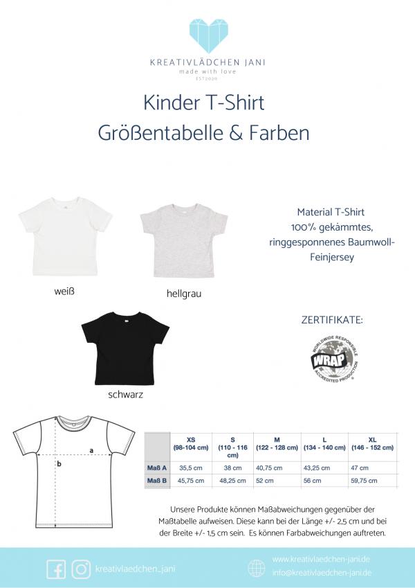 T_Shirt Kinder Größe