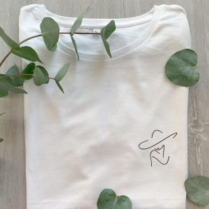 T-Shirt Skizze Frau