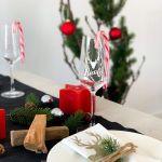 Sektglas Weihnachten personalisiert
