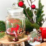 Keksdose Frohe Weihnachten personalisiert