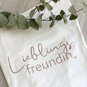 T-Shirt Lieblingsfreundin