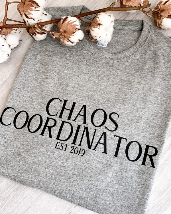 T-SHIRT HERREN CHAOS COORDINATOR EST