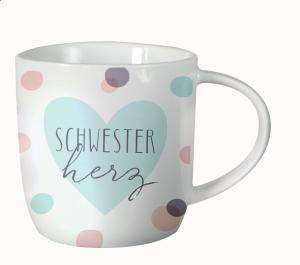 Kaffeetasse Schwesterherz