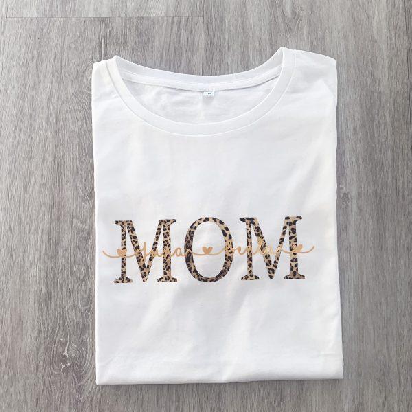 T-Shirt MOM Kindernamen