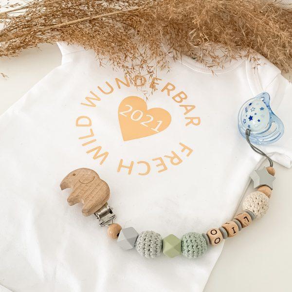 Baby Body frech wild wunderbar - personalisiert