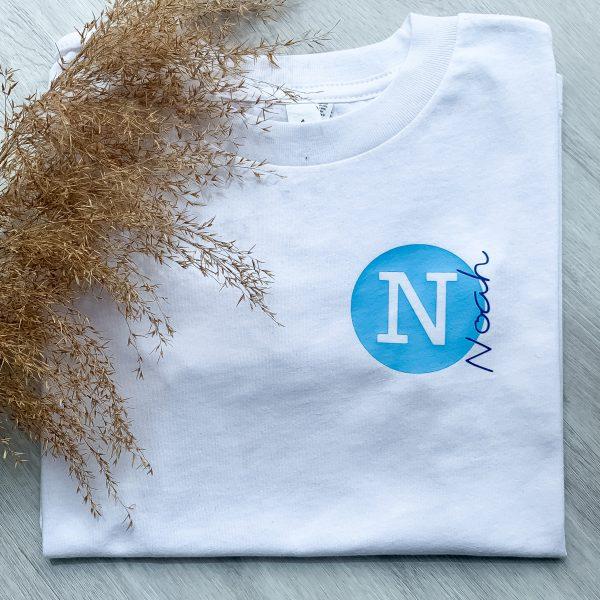 T-Shirt Kreis Initial Name