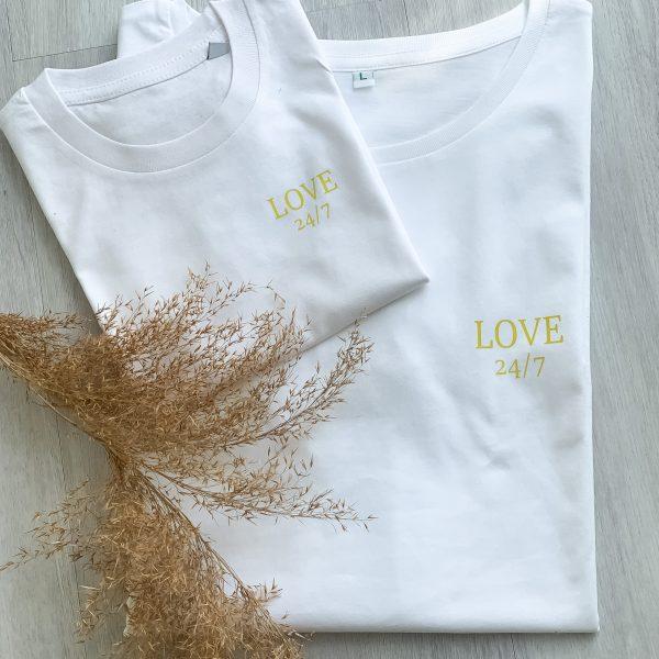 T-Shirt 2er Set LOVE 24/7