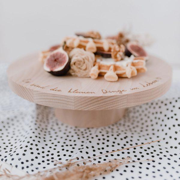 Kuchenständer Es sind die kleinen Dinge im Leben