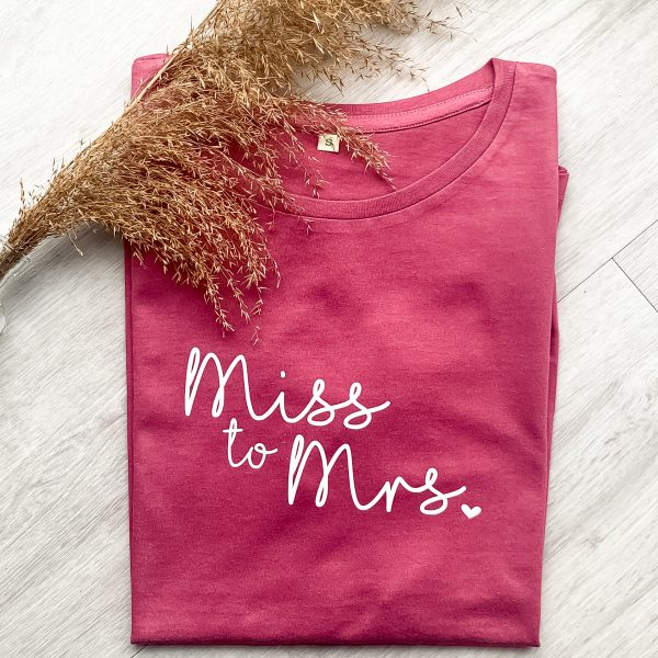 T-Shirt Miss to Mrs