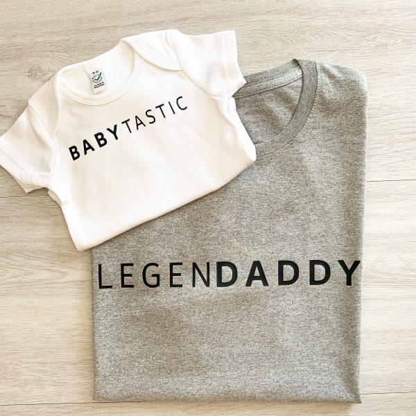 T-Shirt 2er Set Babytastic & Legendaddy