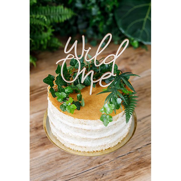 Cake Topper Wild one